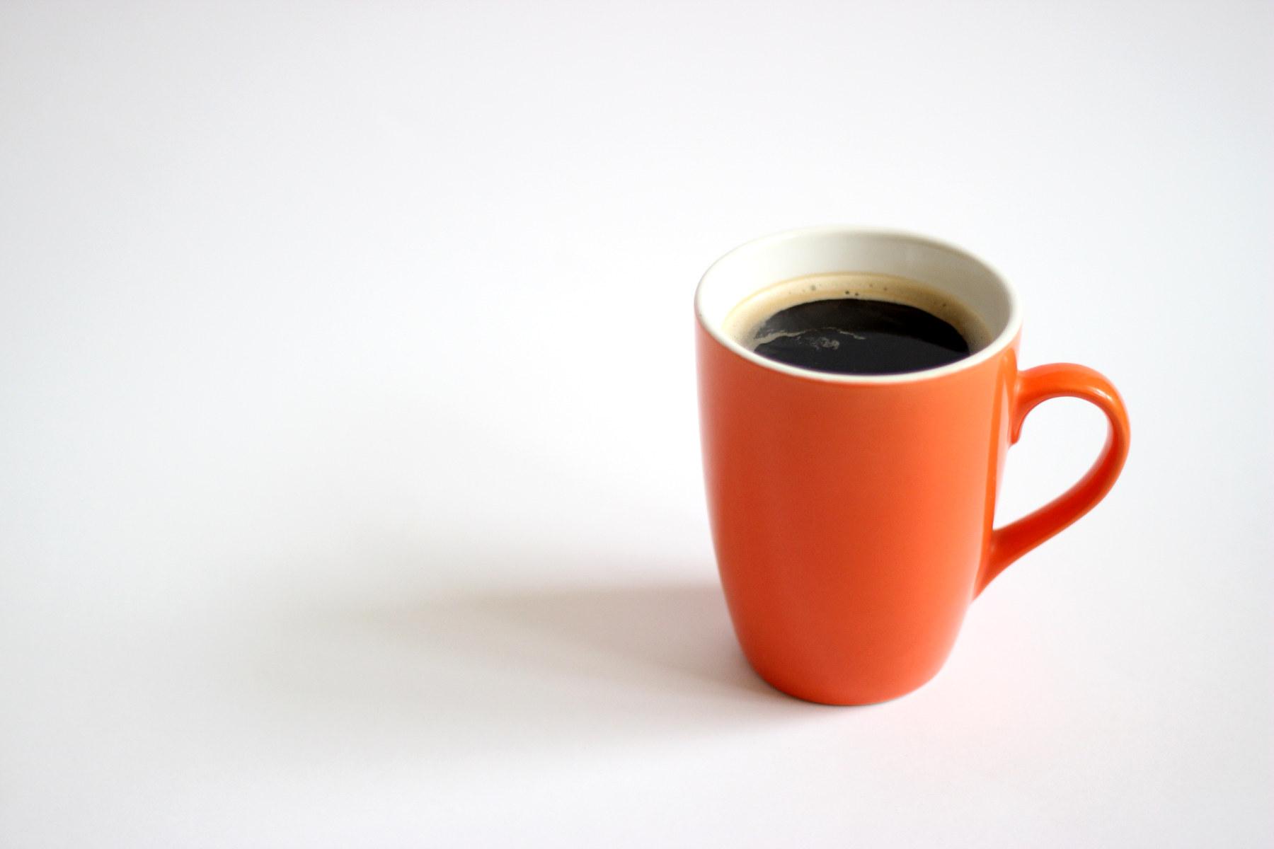 hot coffee white background - photo #20