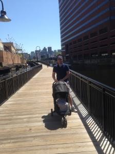 Vår fabelaktige reisetrille fra babyjogger. Den er altfor dyr, men bortsett fra det, tilnærmet perfekt.