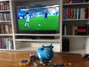 God fredag! Den blå kua er selvskreven gjest :-)